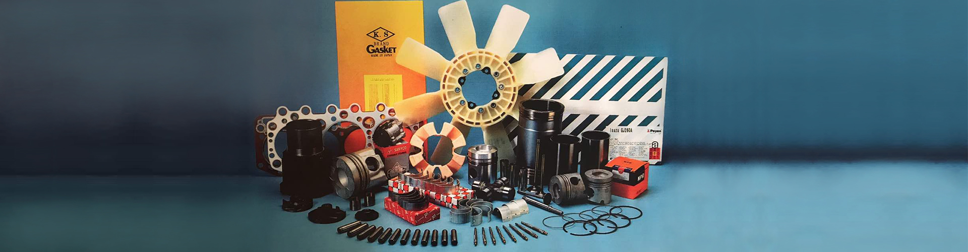 Malaysia Engine Spare Parts Supplier | Forktrak Engineering Sdn Bhd